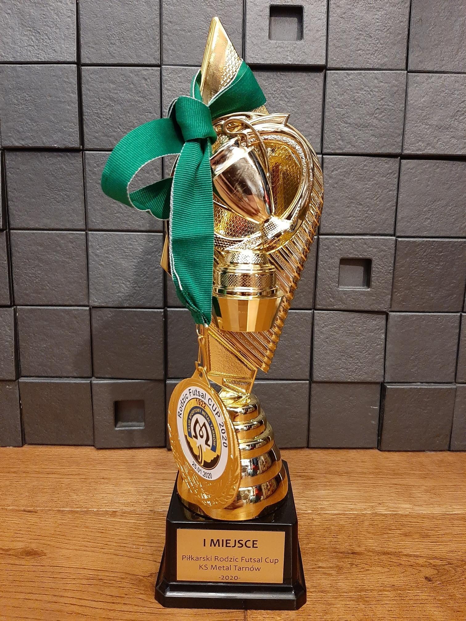 Pierwsze miejsce na turnieju – Piłkarski Rodzic Futsal Cup KS Metal Tarnów